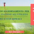 Rinnovo abilitazione all'utilizzo di fitofarmaci – FEBBRAIO • San Giorgio
