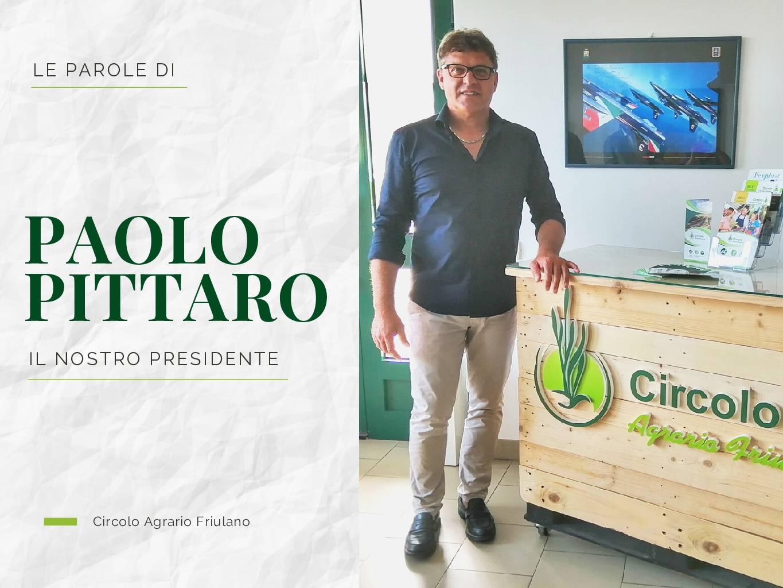Le parole di Paolo Pittaro